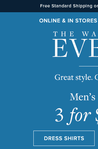 THE WARDROBE EVENT | DRESS SHIRTS