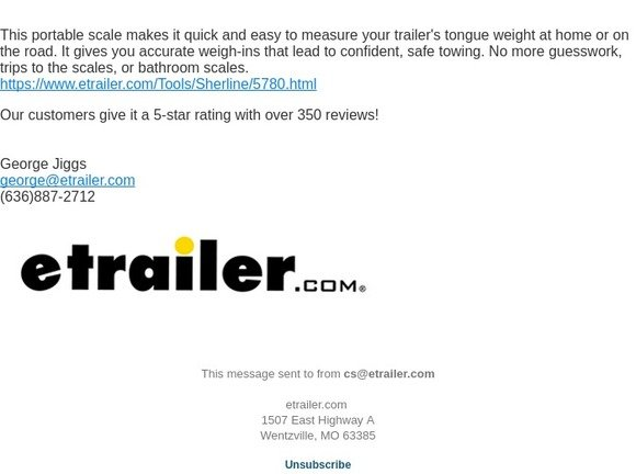 Etrailer Com Have You Seen This Tongue Weight Scale Milled