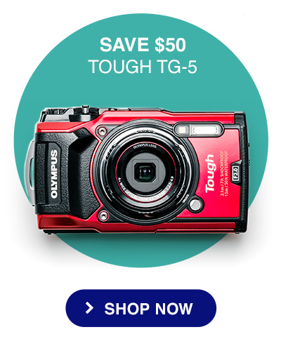 SAVE $50 - TOUGH TG-5