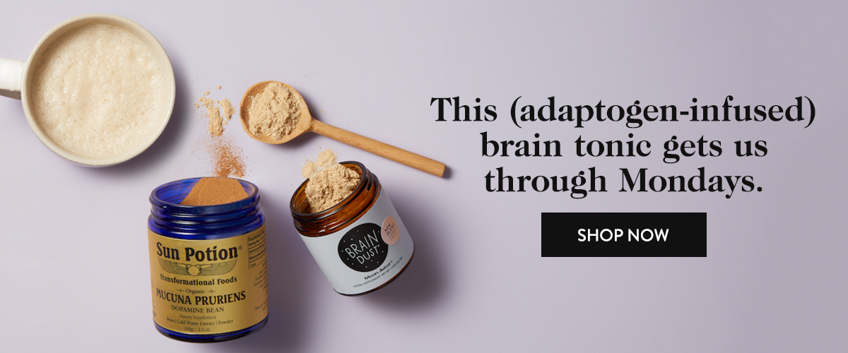 This (adaptogen-infused) brain tonic gets us through Mondays.