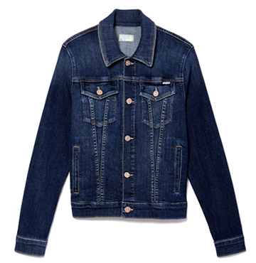 MOTHER The Pocket Bruiser Denim Jacket $325