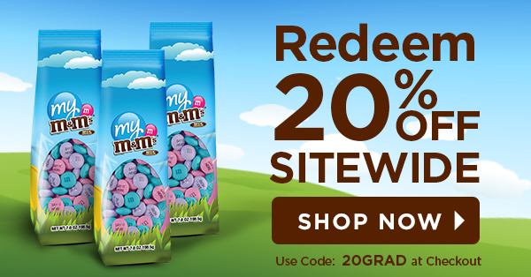 My M&M's: Last Chance - 20% Sitewide Saving Ends Today! | Milled