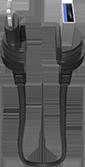 MICRO USB CABLE LANYARD