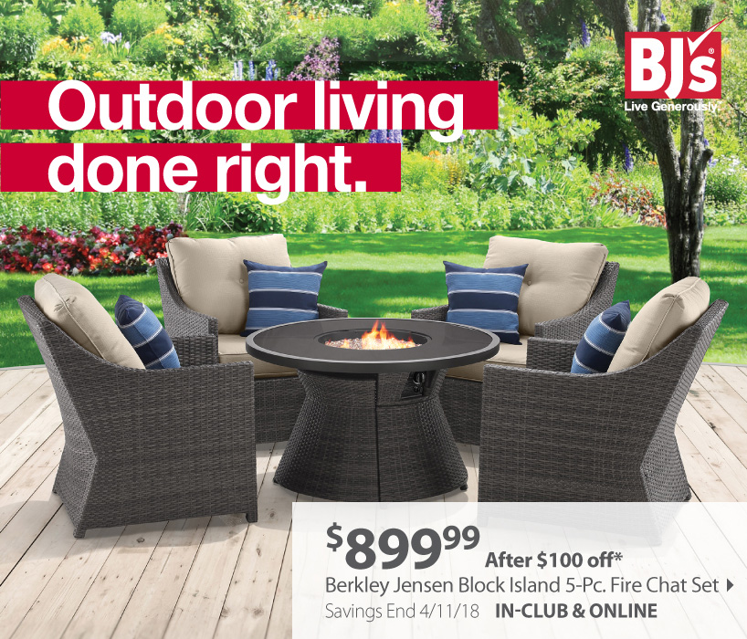 Bjs Wholesale Club Patio Savings See What Your Outdoor Space Is Missing Milled
