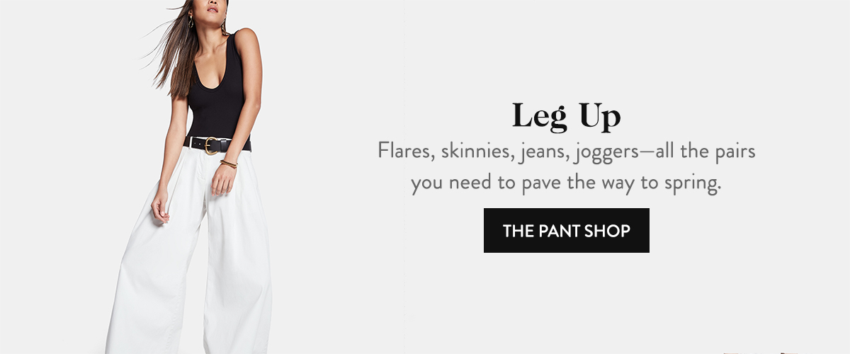 Leg Up: The Pant Shop
