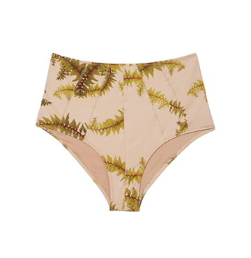 Cali Dreaming Seamed Phoenix High-Waist Bottom $135