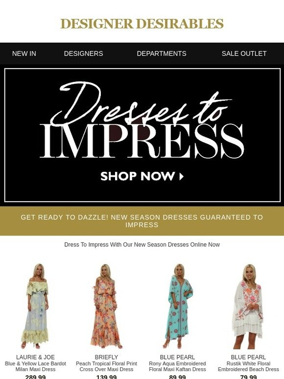 90656898296f Designer Desirables: Get Ready To Dazzle! New Season Dresses Guaranteed To  Impress | Milled