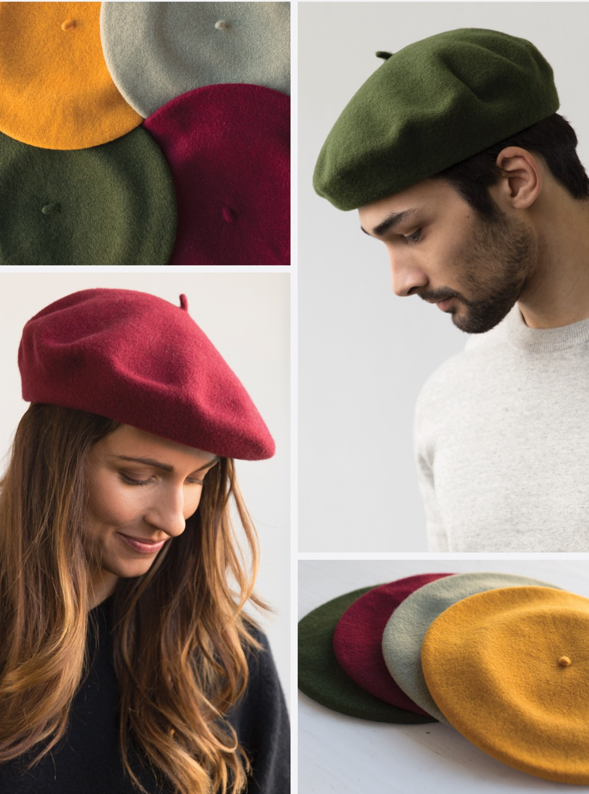 3ade076ae08f3 Goorin Brothers  The authentic beret is back in 4 new colors