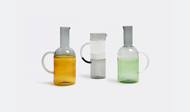 'Tequila Sunrise' jug by MIST-O for Ichendorf Milano