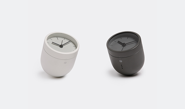 'Norm Tumbler' alarm clock by Norm Architects for Menu