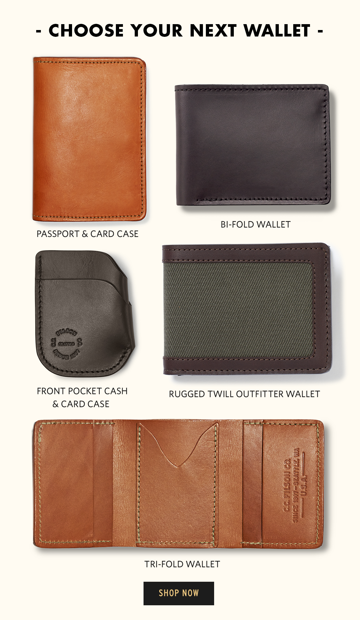 cheap for discount ec362 7b468 Filson: Filson Wallets & A Special Offering | Milled