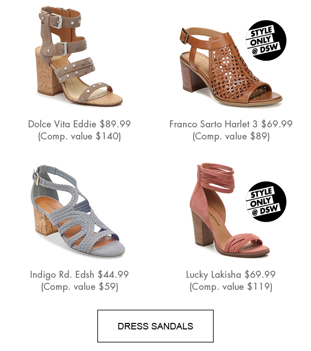 ed2fb15ee410 ... DSW Save on these outfit making sandals Milled