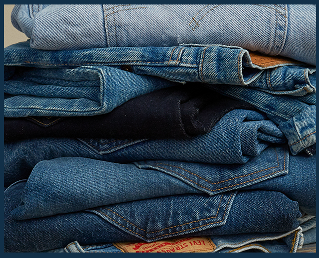 The denim stock-up event! Mens & womens jeans from $40. Kids styles from $20.