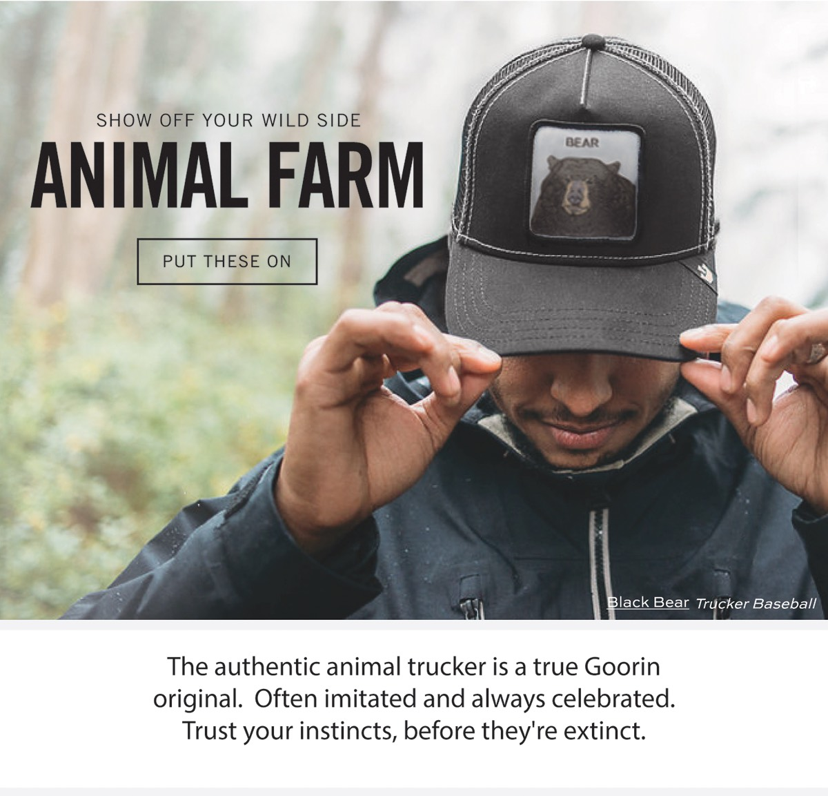 a80a071a Show off your wild side | ANIMAL FARM | PUT THESE ON | The authentic animal