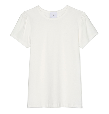 Emilie Tomboy Tee in White