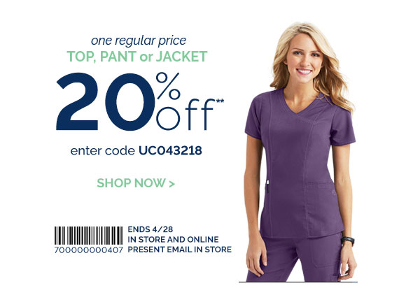 Uniform City is an online retailer of medical and hospitality uniforms. It sells scrubs, lab coats and medical accessories from famous brands like Cherokee, Skechers and Radiance. Its website also exclusively offers special products including Gifts, Seasonal Prints and Pink Ribbon.