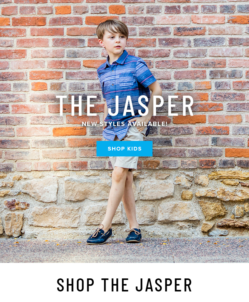 Take his style up a notch with the Jasper Collection. NEW styles available! Display images to learn more!