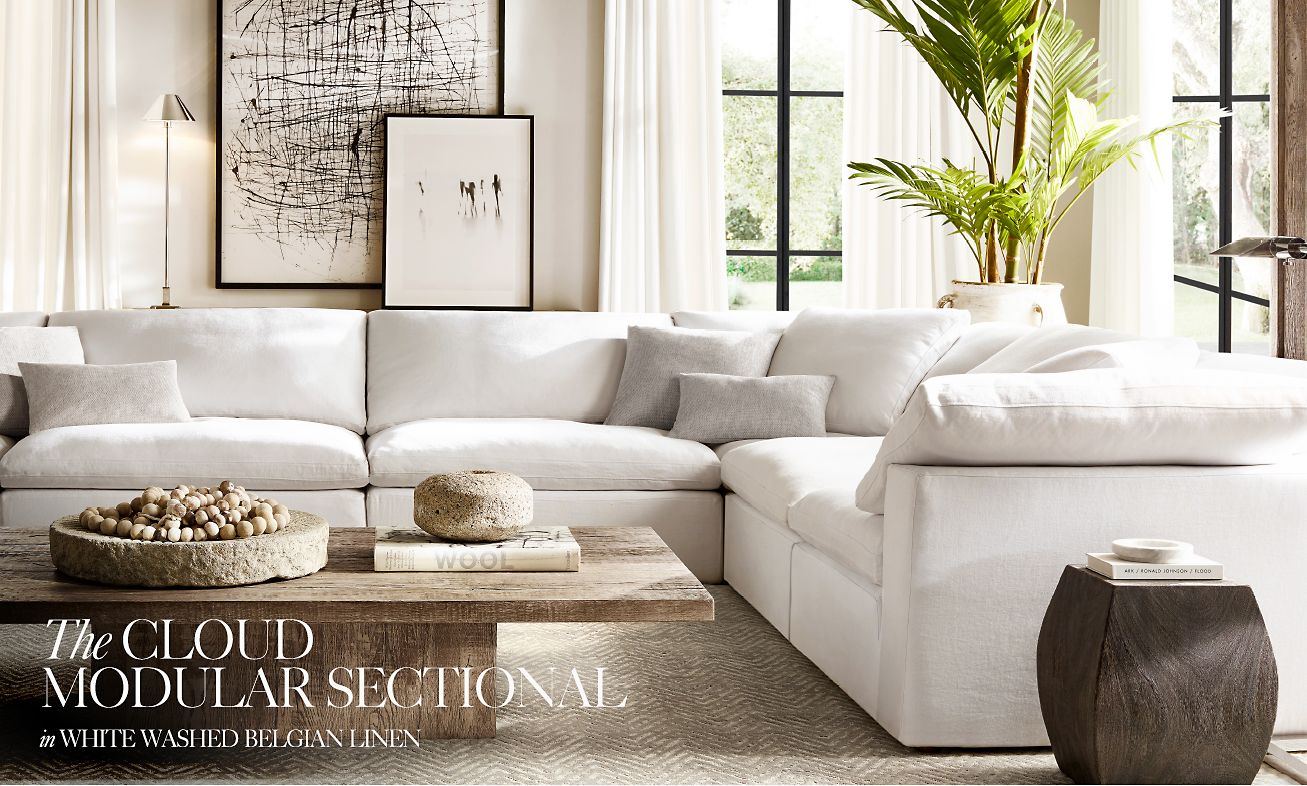 Restoration Hardware: Why Sit When You Can Float. Experience the ...