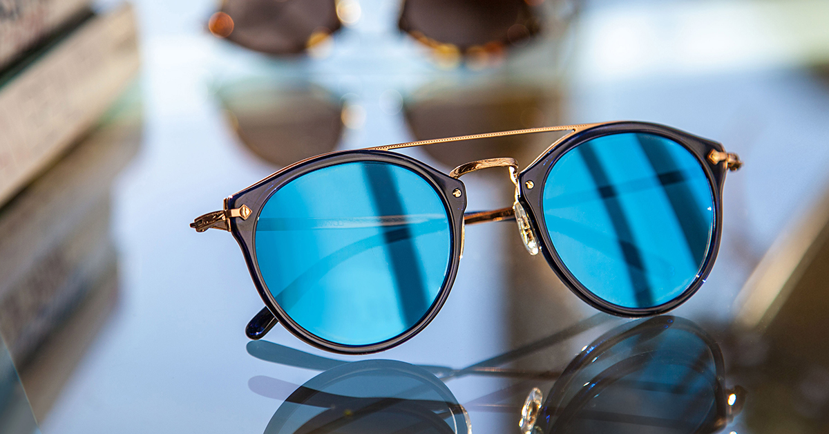 ee17a03a1a Experience life in the fast lane with Oliver Peoples Remick sunglasses.  Introduced as part of the Resort 2017 collection