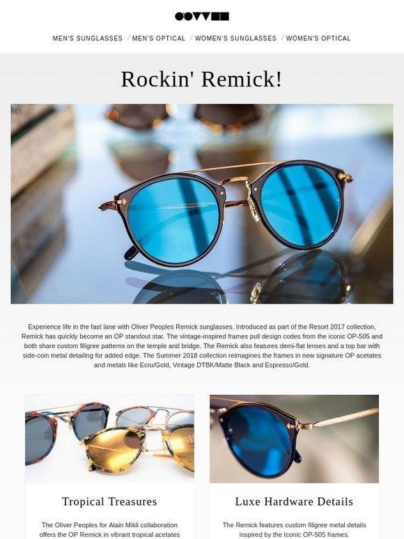 2426df9be9 Oliver Peoples Eyewear  Oliver Peoples Remick