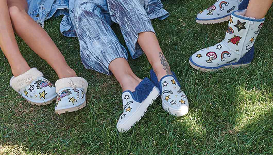 c4c261093e3 UGG Australia: Just Dropped: Patch It Crazy   Milled