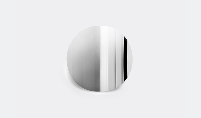 'Imago' mirror object by Peder Jessen for Mater