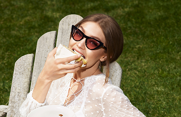 5a555ac7f4 GIGI HADID FOR VOGUE EYEWEAR - Special Collection