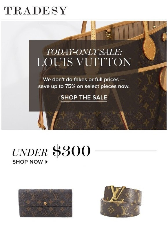 764d5553427 Tradesy  Today Only  Louis Vuitton Sale