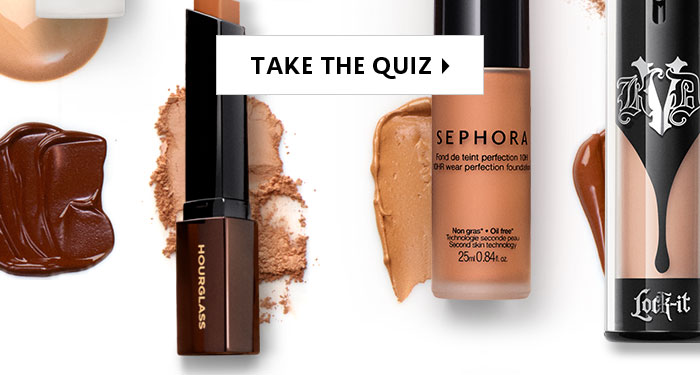 Sephora: Take our quiz to find just-for-you foundations | Milled