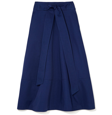G. Label Lily Belted Flare Skirt $450