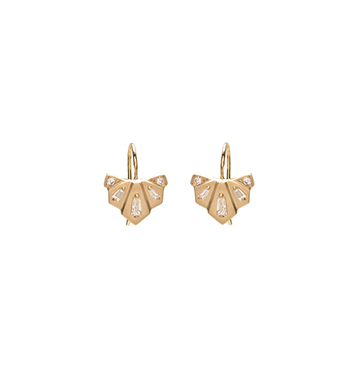Diamond Nomad Fan Drop Earrings $1,890