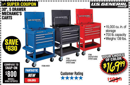 Harbor Freight: SPECIAL SALE • 81% off and more!   Milled