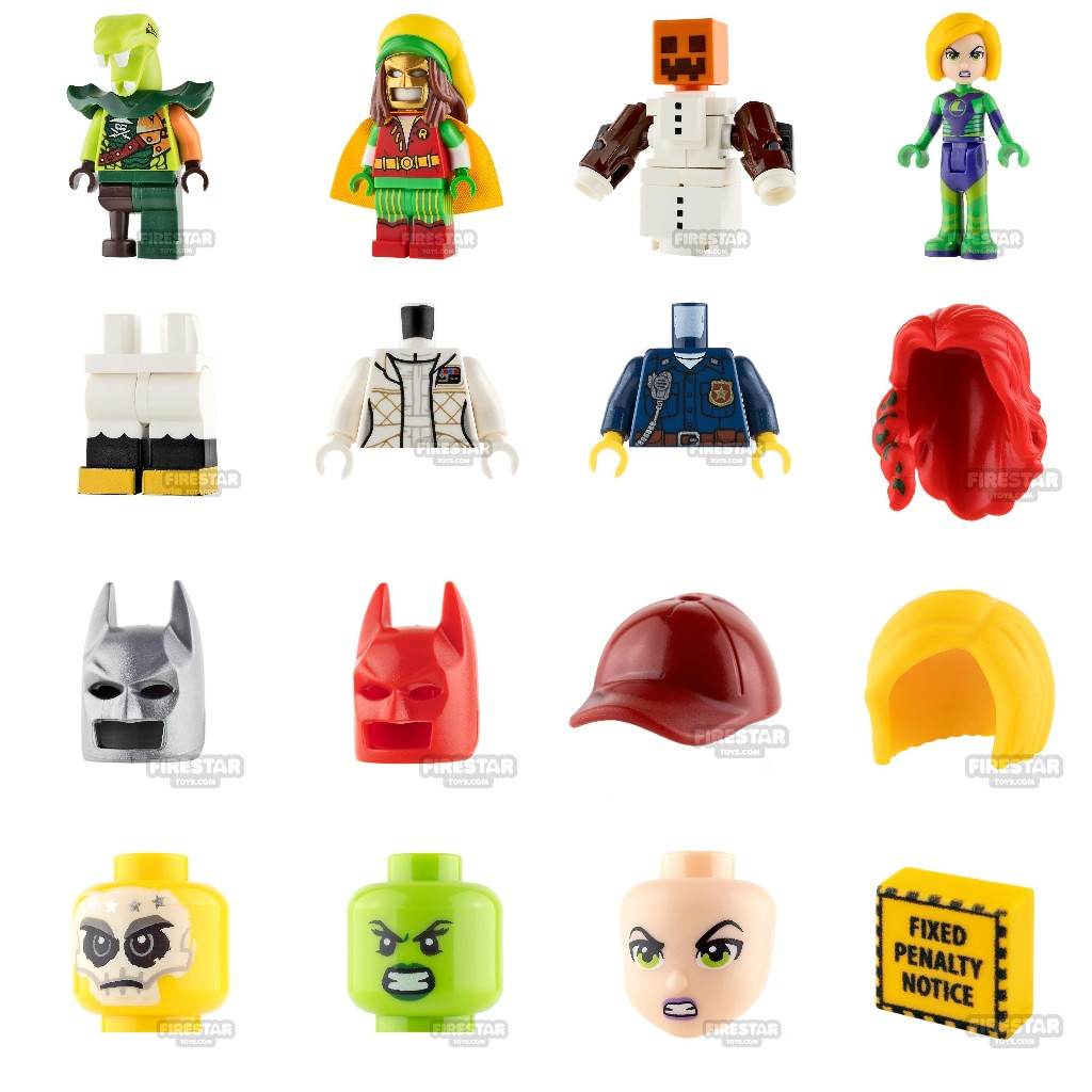 Firestar Toys: Create The Ultimate LEGO Business Card.   Milled