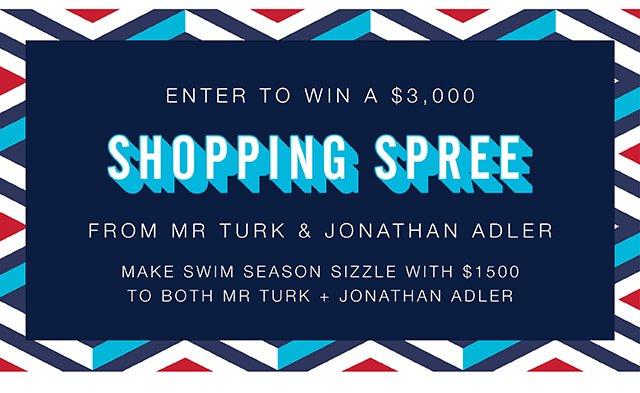 Enter to Win $3000 Shopping Spree