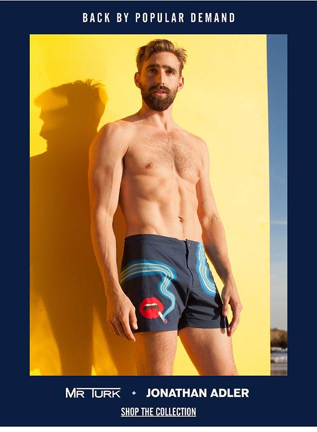 Back in stock! Mr Turk + Jonathan Adler Swim Collection