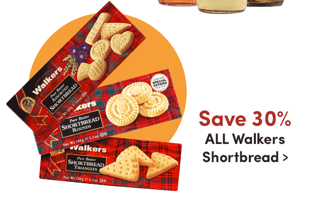 Save 30% ALL Walkers Shortbread