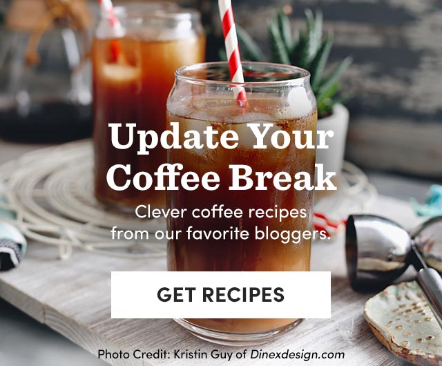 Update Your Coffee Break - Clever Coffee Recipes