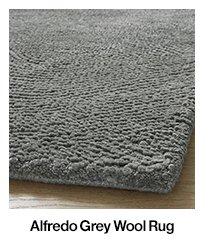 Alfredo Grey Wool Rug