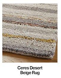 Ceres Desert Beige Rug