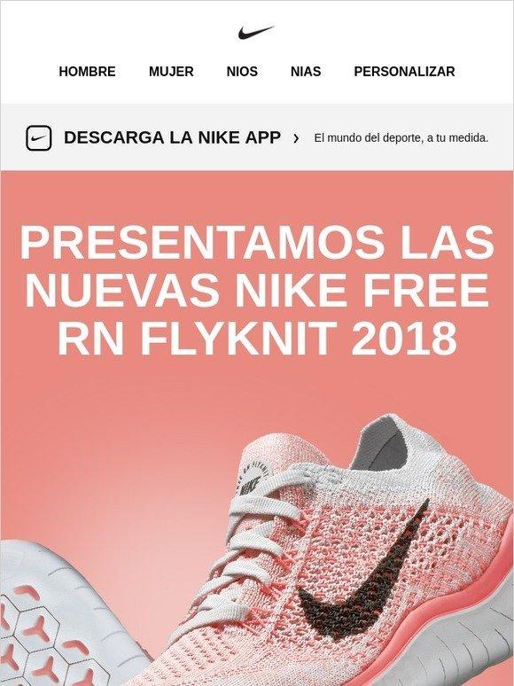 the best attitude 73273 18355 Nike  Descubre las Nike Free RN Flyknit 2018   Milled
