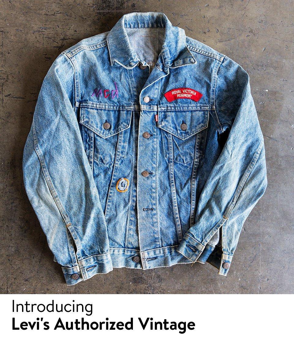 Introducing Levi's Authorized Vintage.
