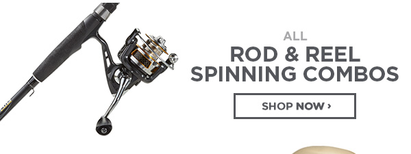 Rod and Reel Spinning Combos