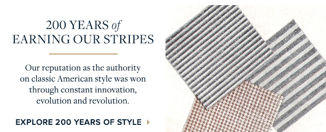 EXPLORE 200 YEARS OF STYLE
