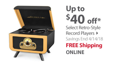 Up to $40 off Retro Players