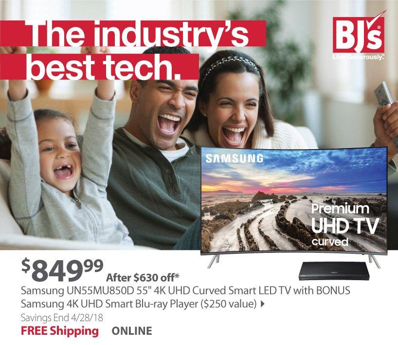 Samsung 55 4k curved TV