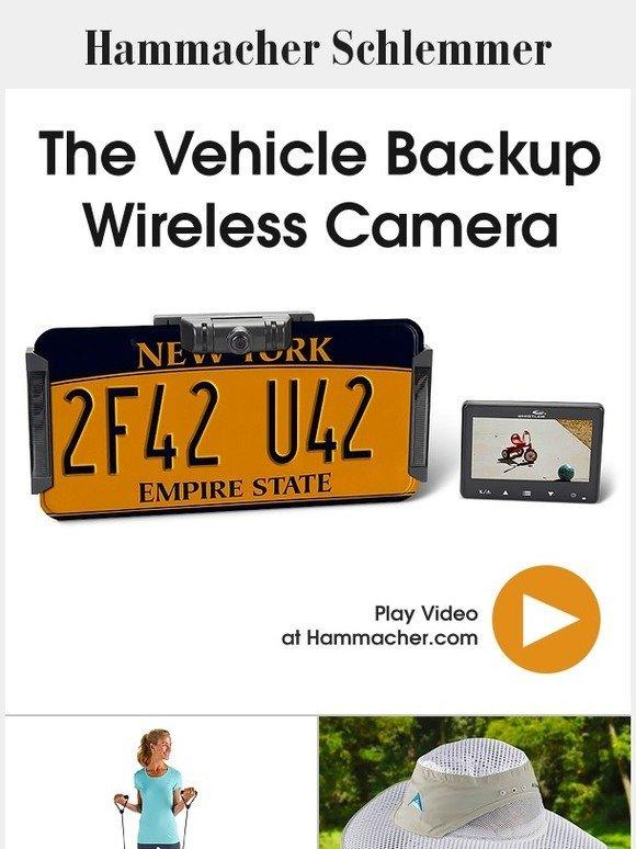 217e0ffd2f2f1 Hammacher Schlemmer  The Vehicle Backup Wireless Camera