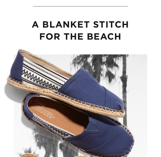 A Blanket Stitch For The Beach