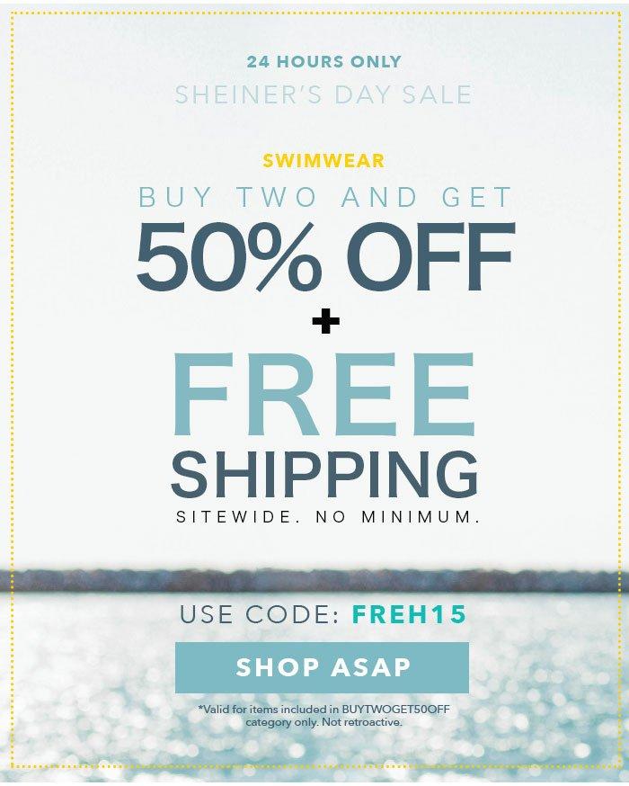 bb054a2c8fd SheInside: HAPPY SHEINer's DAY: Free Shipping Sitewide, No Minimum ...