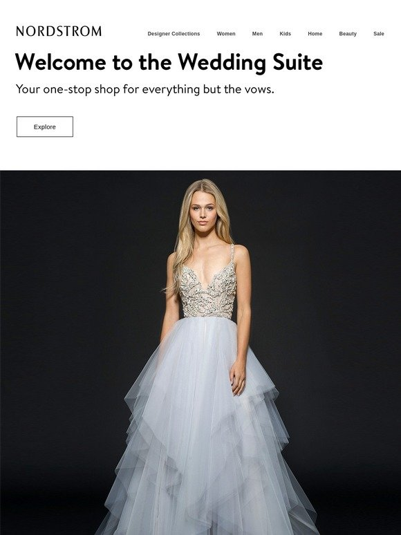 Nordstrom The Prettiest Bridesmaid Dress Trend Hayley Paige Wedding Dresses And More