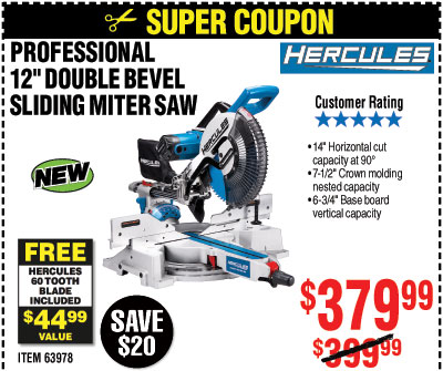 Harbor Freight: Save up to 85% with Super Coupons | Milled